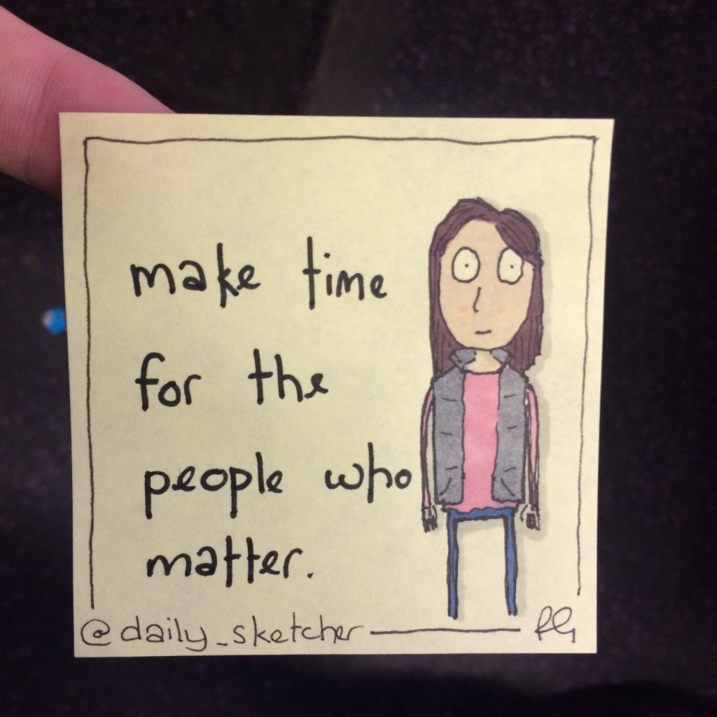 make time – The Daily_Sketcher